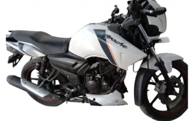 SECOND HAND 2014 TVS APACHE RTR SINGLE DISC - MotorBhai