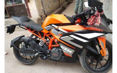 SECOND HAND 2021 KTM RC 200 - MotorBhai